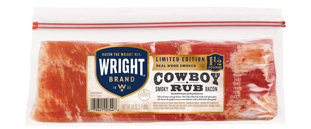 Cowboy Rub Bacon
