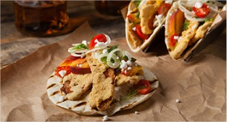 Southern Fried Bacon Tacos
